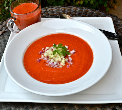 Raw Gazpacho Soup Getting Raw: Classic A...