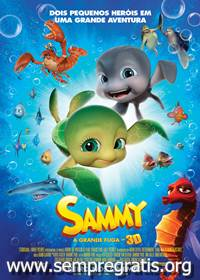 Download Sammy A Grande Fuga RMVB Dublado + AVI Dual udio DVDRip + Torrent Baixar Gr&Atilde;&iexcl;tis