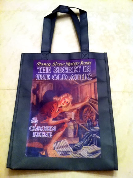 Book Cover Canvas Art Barnes And Noble : Nancy drew sleuth tote at barnes noble