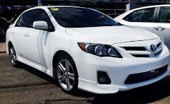 Si lo sabemos, ¡La excelencia está presente en este Toyota Corolla 2013, color blanco!.....
