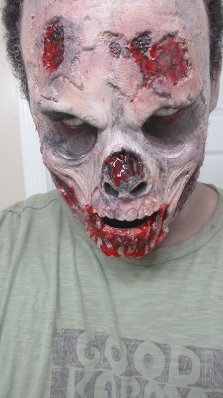 halloween makeup walking dead zombie makeup by renren