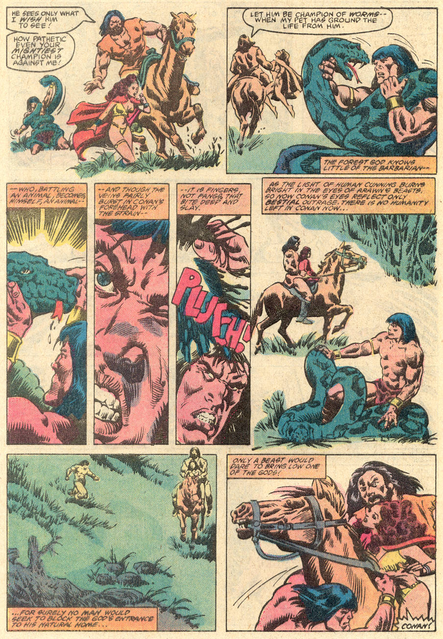Conan the Barbarian (1970) Issue #135 #147 - English 21