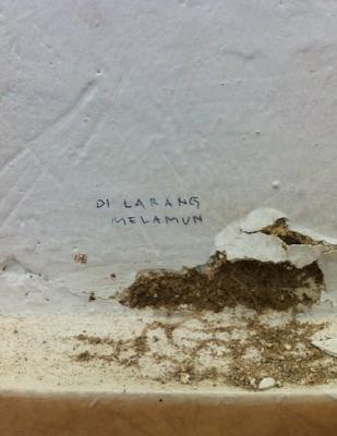 Larangan di WC/Toiler/></a></span></span></div> <div style=