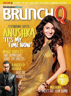 Anushka Sharma cover girl for BrunchQ Magazine