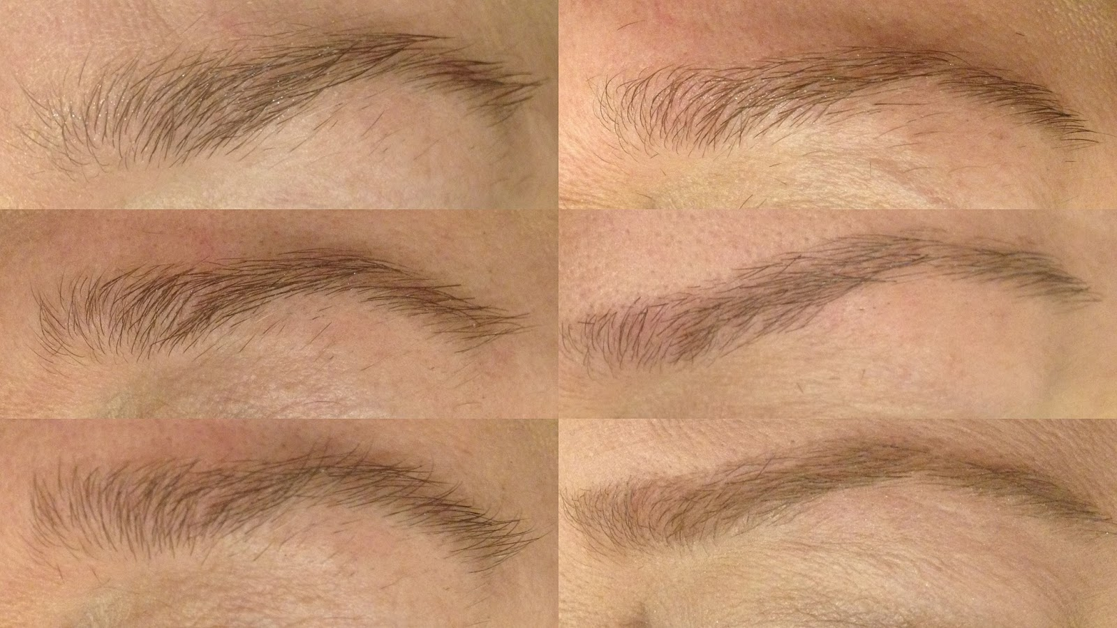 how to shape, groom, cut, razor brows, natural brows, step my step