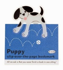 Puppy bookmark
