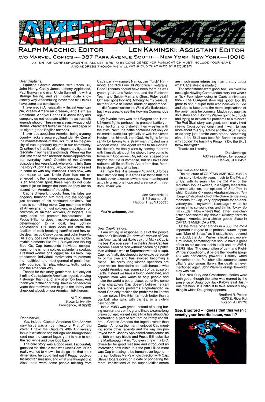 Captain America (1968) Issue #395 #328 - English 24