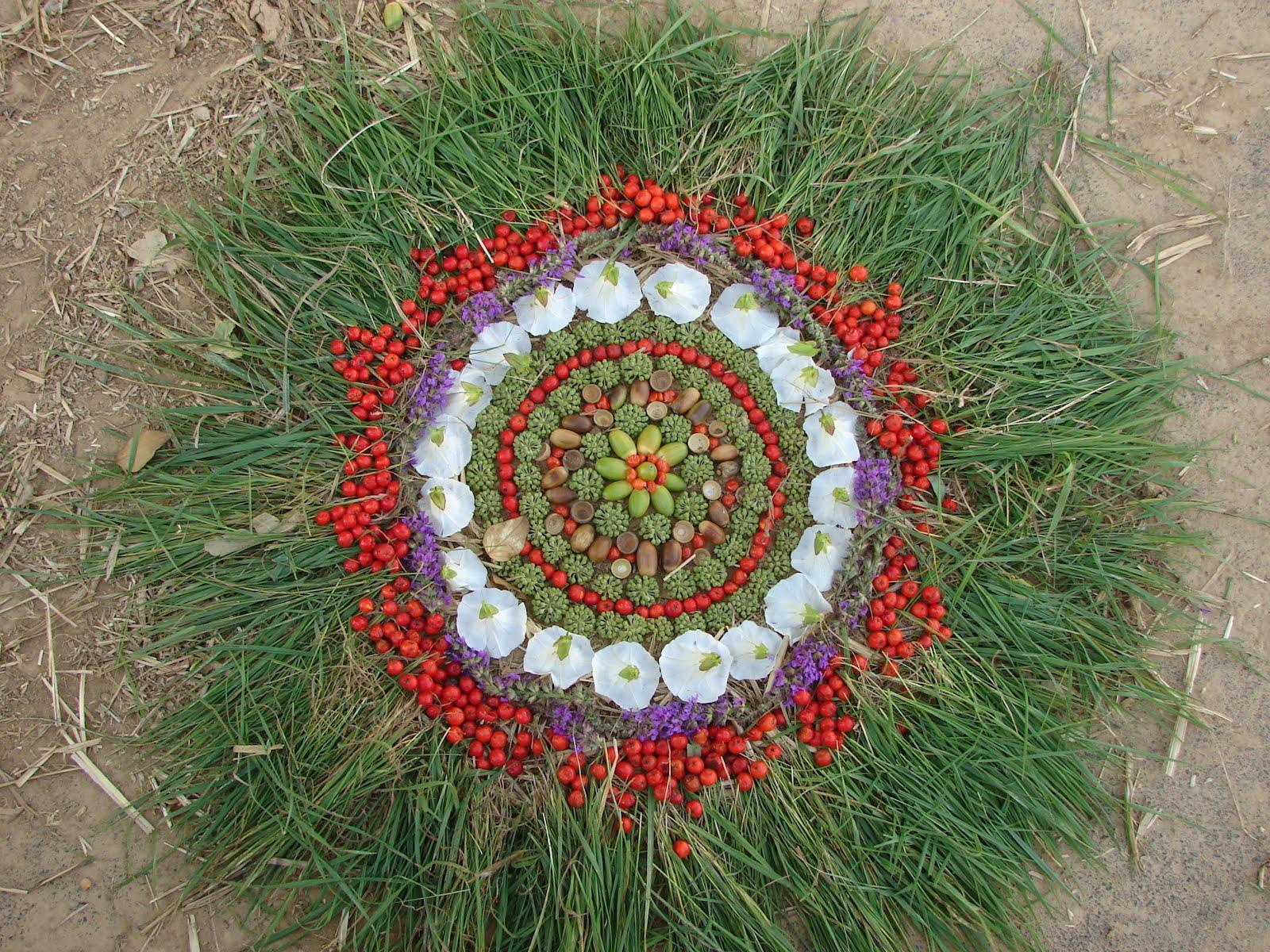 1000 images about mandalas naturales natural mandalas on pinterest flower mandala mandalas - Mandala nature ...