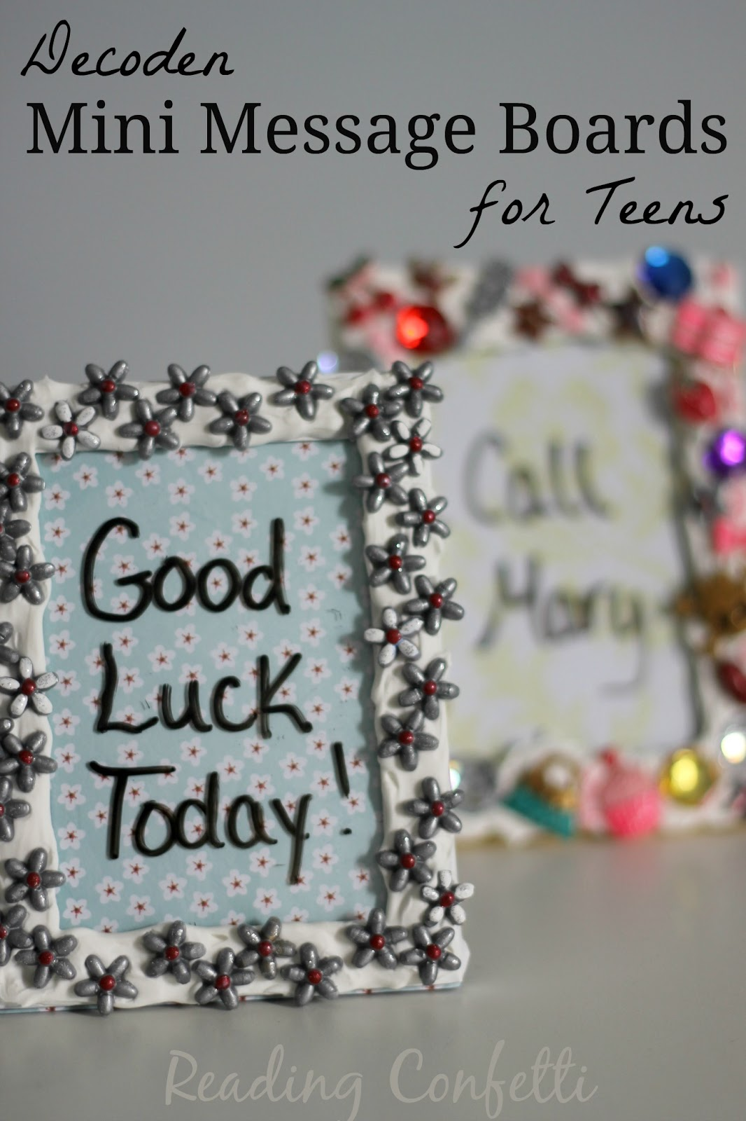 Gift Idea for Teens: Decoden Mini Message Boards