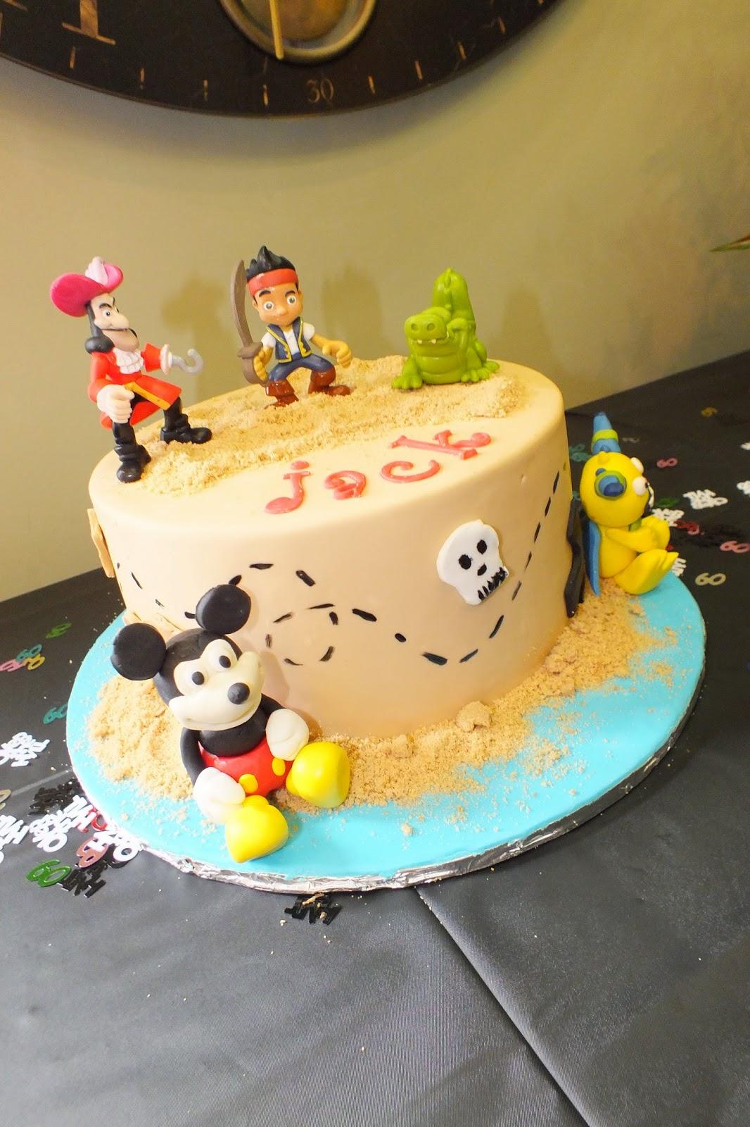 Sweet Bottom Cakes Disney Junior Birthday Cake