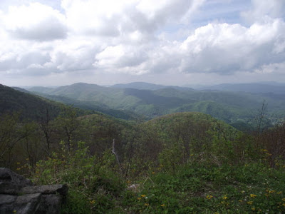 appalachian mountain scene