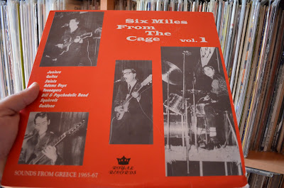 Various - Six Miles From The Cage vol.1 : Sounds from Greece 1965-67  1998 (Royal)