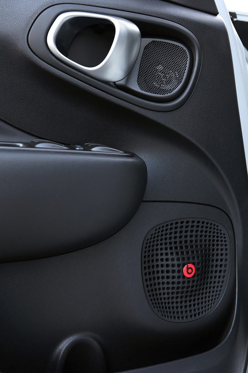2014 Fiat 500L Beats Edition™ speakers