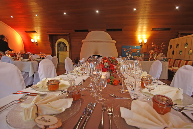 Herbst-Hochzeit im Kaminzimmer im Seehaus am Riessersee, Garmisch