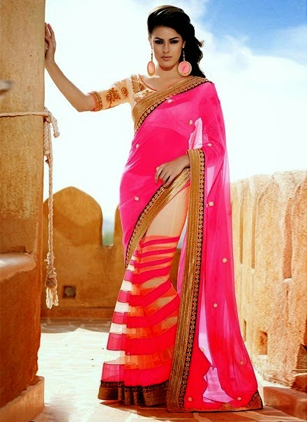 Indian Formal Fancy Sarees 2014