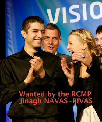 Wanted by the Vancouver RCMP - Jinagh Navas-Rivas