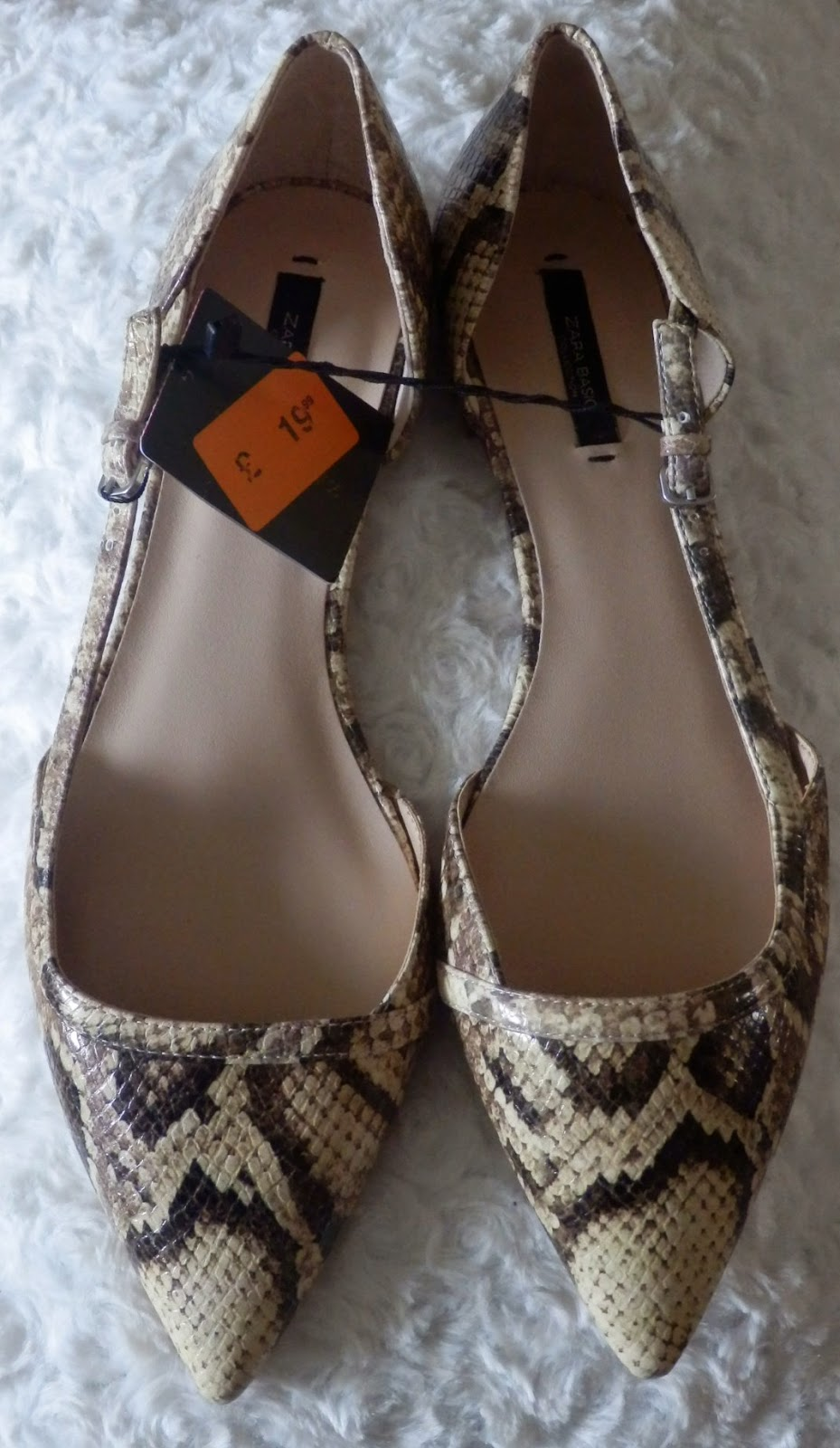 Zara Snakeskin Shoes