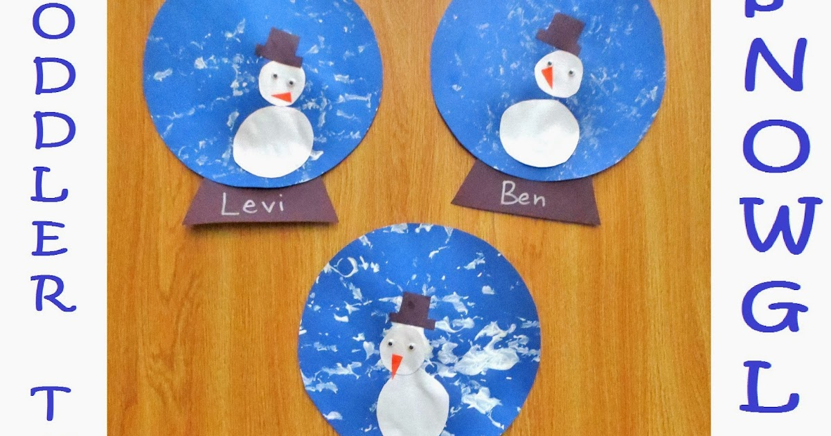 Princesses Pies Preschool Pizzazz Toddler Tuesday Snowmen In Snowglobes