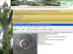 CD con libros electrónicos de Microdosis
