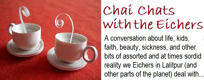 Chai Chats with the Eichers