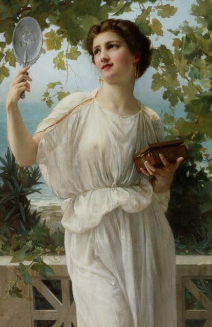Guillaume Seignac,greek painting,modernism