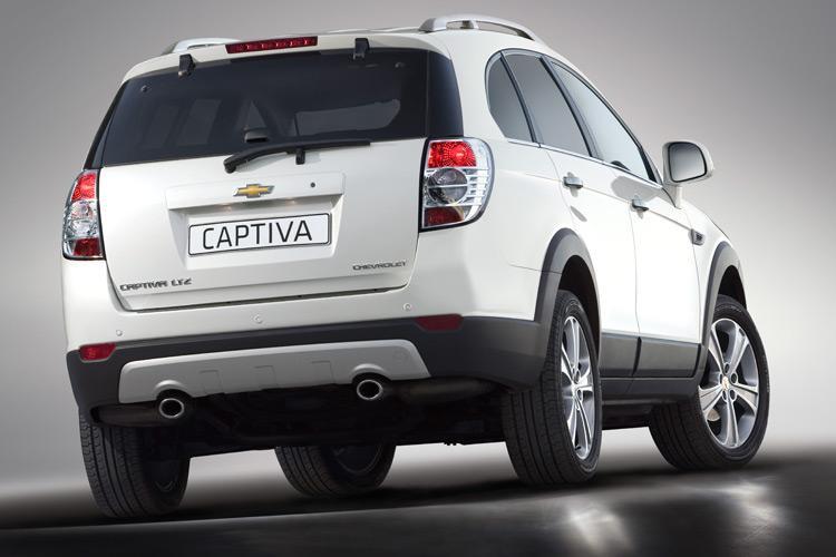novo Chevrolet Captiva 2014 traseira