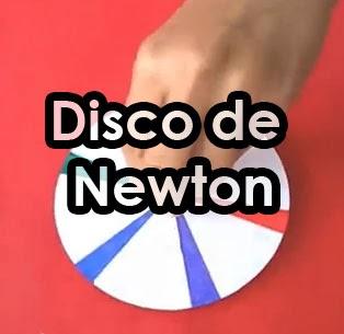 disco de newton casero