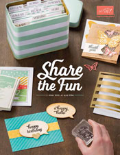 The 2015 - 2016 Stampin Up Catalogue