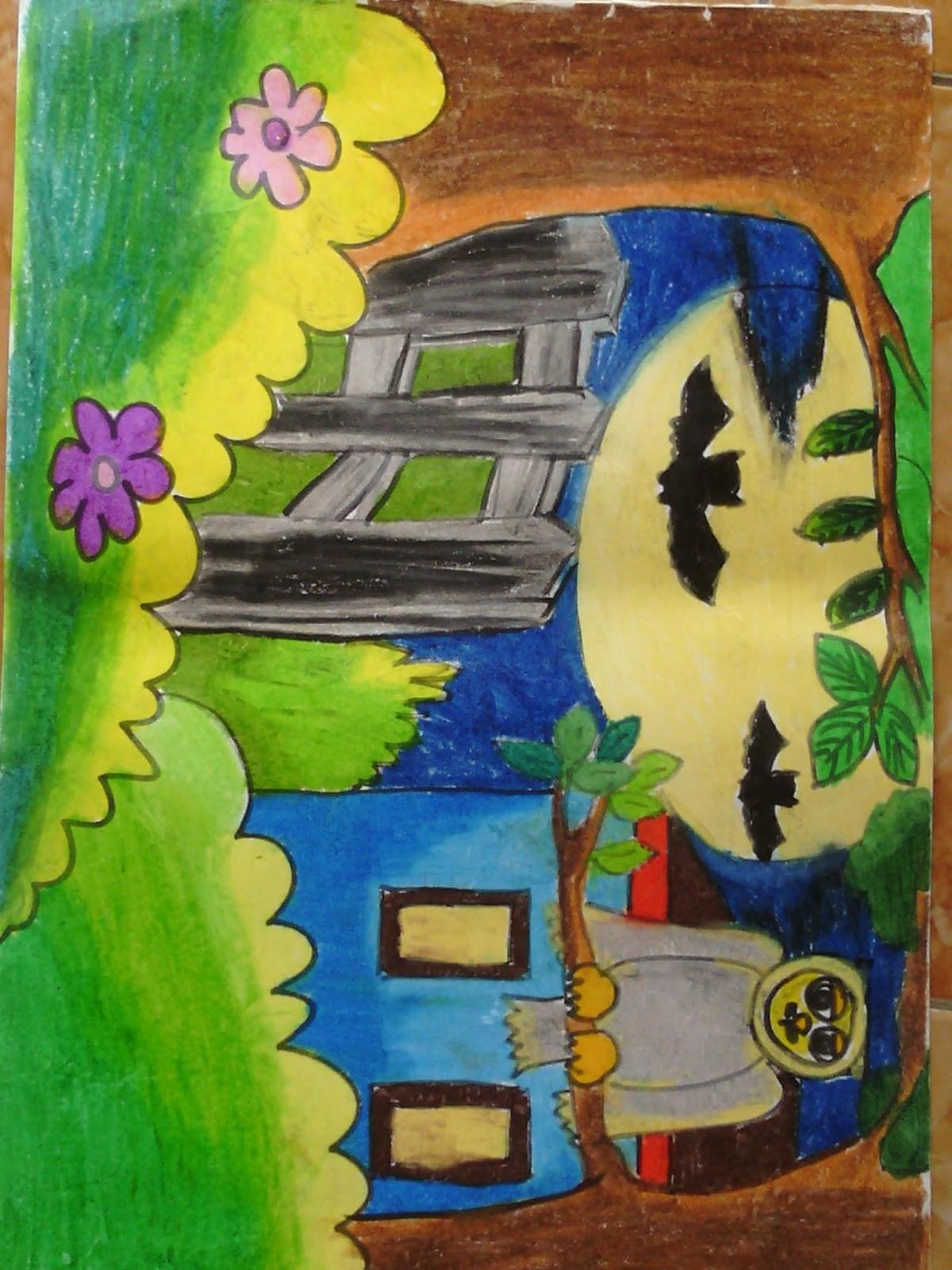 Berbagi Ilmu Dan Pengalaman Pembelajaran Menggambar Untuk Siswa Kelas Tinggi