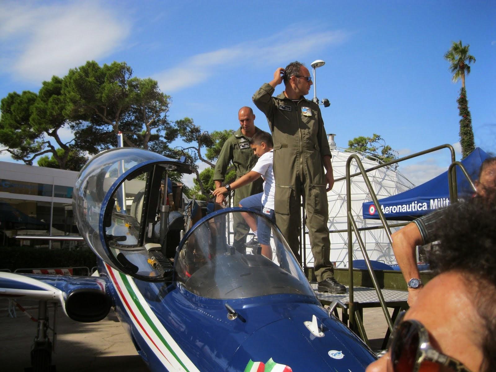 Istruttori piloti tra il pubblico...