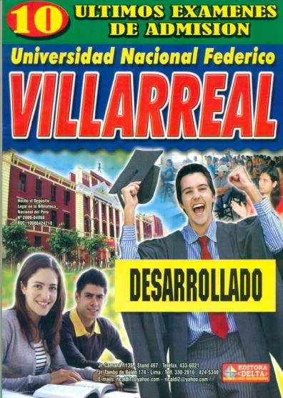 Examenes Universidad Nacional Federico Villarreal