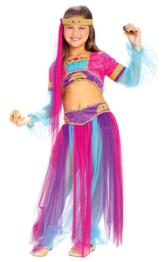 disfraz mujer arabe casero