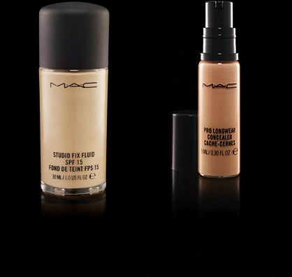 makeup starter kit mac  hairspray and highheels