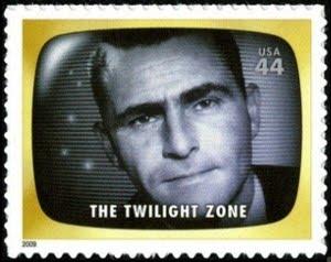 Rod Seling commemorative postage stamp