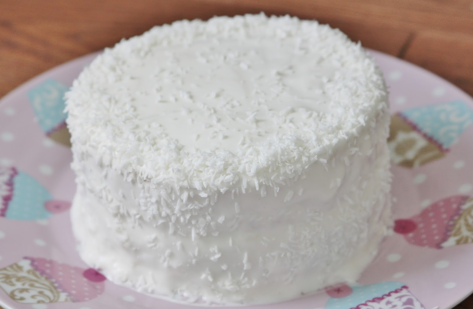 Nourish with Happiness: Coconut Cloud Cake