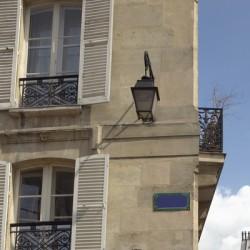 appartement parisien (vue extérieure)