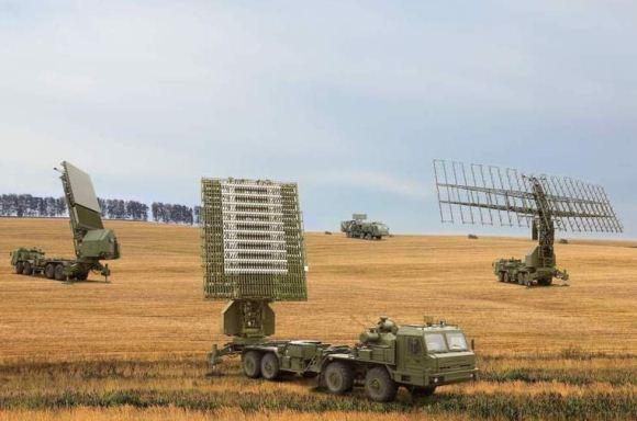 Radar-radar pertahanan udara Rusia