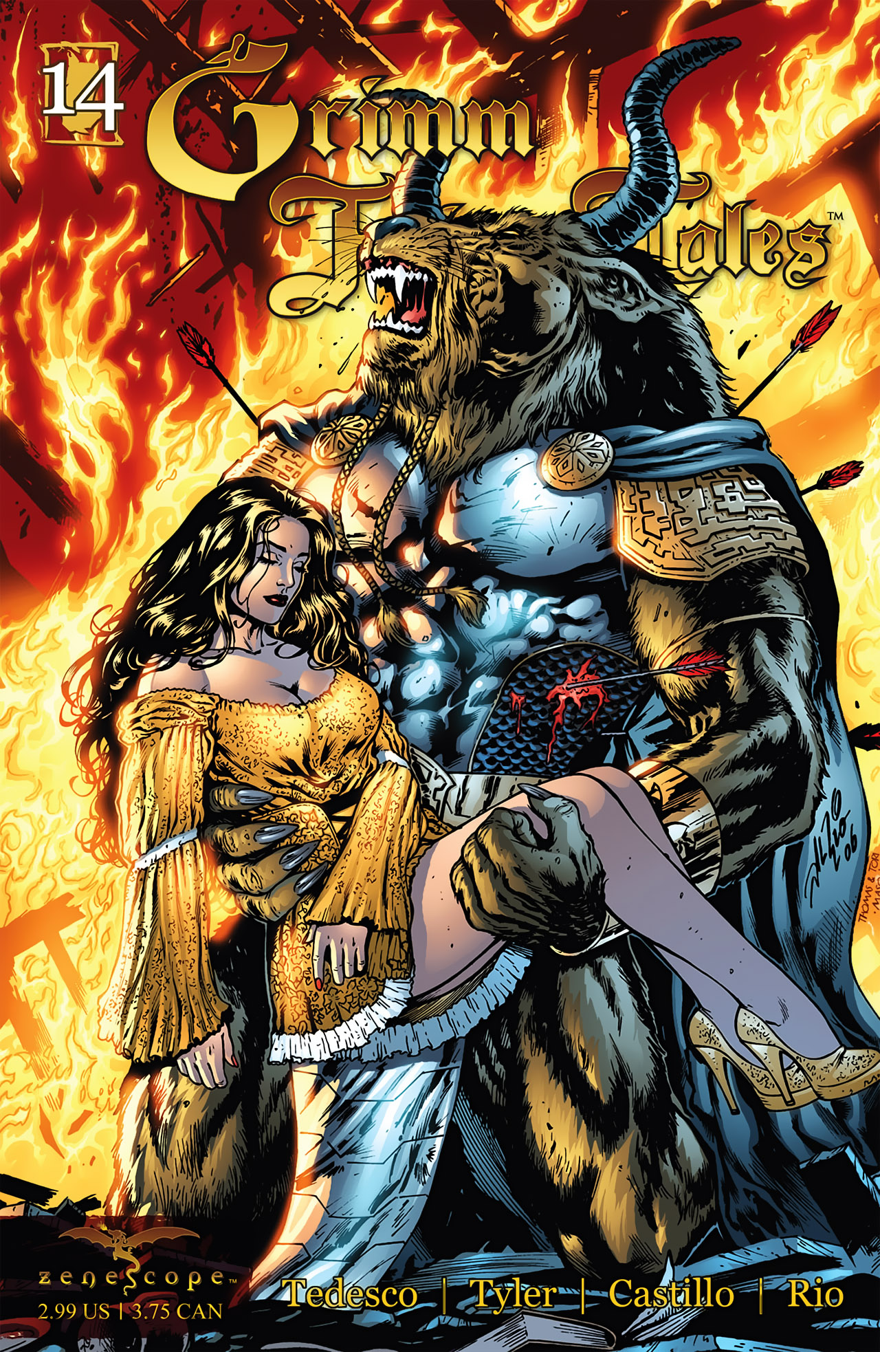 Grimm Fairy Tales (2005) Issue #14 #17 - English 1