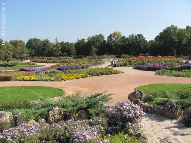 Ботанический сад ТНУ парк Салгирка (Воронцовка)