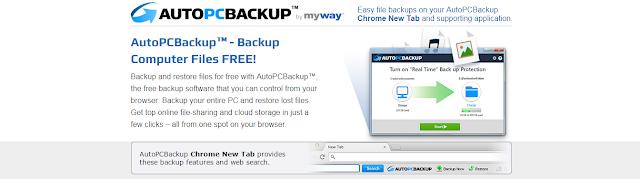AutoPCBackup Toolbar