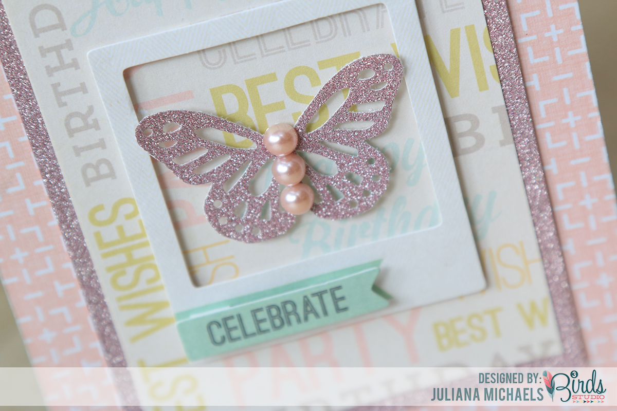 Celebrate feminine birthday cards by Juliana Michaels for 3 Birds Design