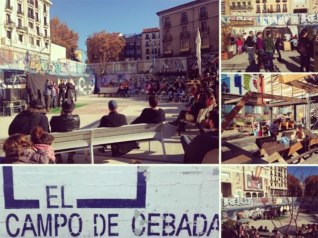Place de La Cebada - Madrid
