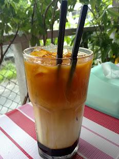 TCP ni ialah teh susu yang mempunyai perisa wheatgrass atau gula apong..nyaman
