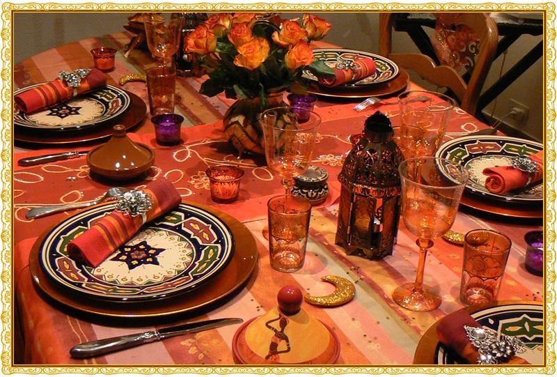 déco de table pour un couscous #3