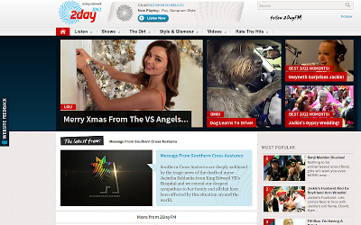 The 2Day FM website