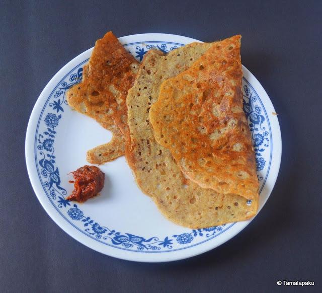 Quinoa Rava Dosa (Instant)