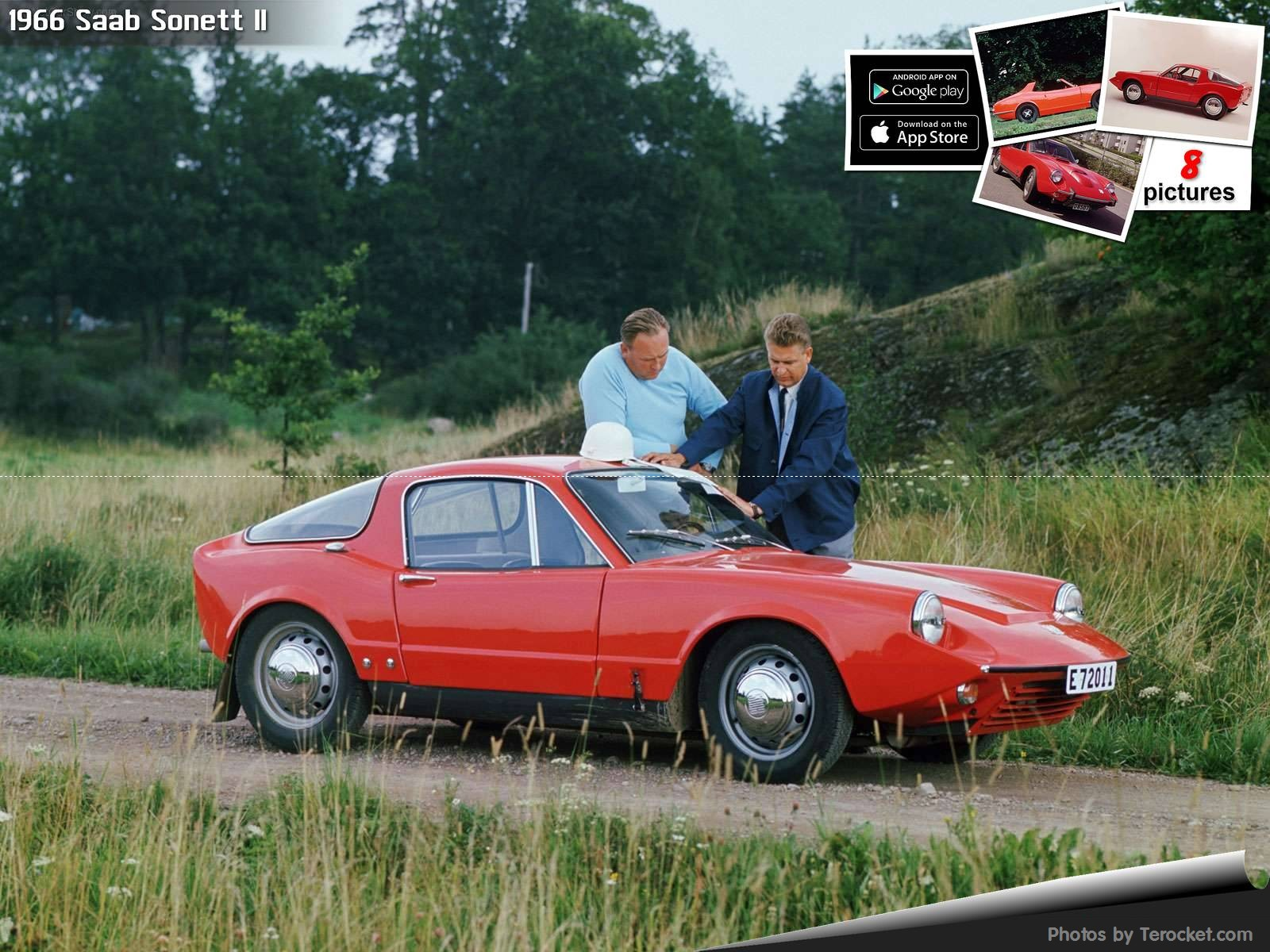 Hình ảnh xe ô tô Saab Sonett II 1966 & nội ngoại thất