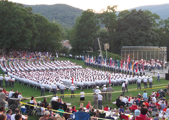 West Point Trophy Point Class of 2017 Independence Day Celebration Fourth of July West Point Band The Hell Cats