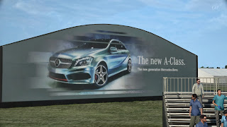 Werbung für die neue A-Klasse