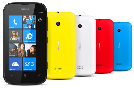Nokia Lumia 510 color Variants